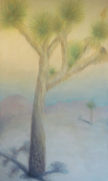 "Joshua Tree 4 / 2014 / acrylic on canvas / 72"" x 43"""