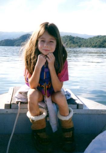 Myself on the Lake, ~1997